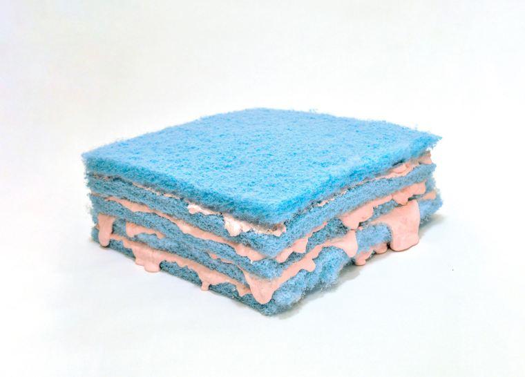 Blue Sponge Cake, 2015